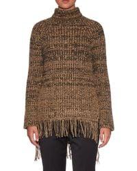 Sportmax - Brown Sesia Roll-neck Sweater - Lyst