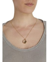 Marc By Marc Jacobs - Metallic Floating Charms Gold Tone Necklace - Lyst