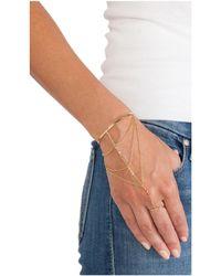Gorjana - Metallic Uptown Hand Chain - Lyst
