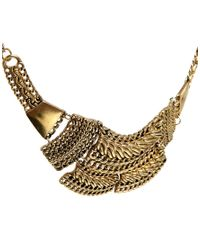 Pull&Bear - Metallic Pull Bear Basic Necklace - Lyst