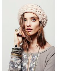 Free People | Natural Womens Slight Chill Knit Headband | Lyst