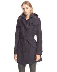Burberry Brit | Natural Fenstone Single-Breasted Trench Coat | Lyst