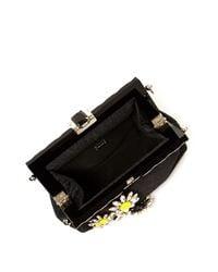 Dolce & Gabbana - Multicolor Vanda Daisy-embellished Brocade Clutch - Lyst
