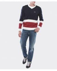 Armani Jeans - Blue Regular Fit Mid Wash Jeans for Men - Lyst