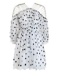 Zimmermann Havoc Doting Paillette Dress In Black Lyst