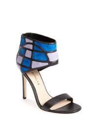 Via Spiga | Black 'tyndra' Ankle Cuff Sandal | Lyst