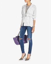 Exclusive For Intermix - White Safari Wrap Jacket - Lyst