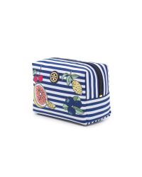 Tory Burch | Blue Printed Nylon Brigitte Cosmetic Case | Lyst