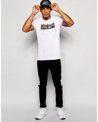 Nike | White Fc Glory T-shirt With Snakeskin Print 689692-100 for Men | Lyst