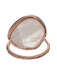 Monica Vinader | Metallic Siren Moonstone Ring | Lyst