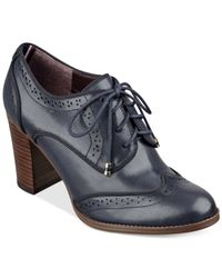 Tommy Hilfiger | Blue Women's Fabiole Oxford Shooties | Lyst