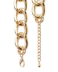 Forever 21 - Metallic Street Smart Curb Chain - Lyst
