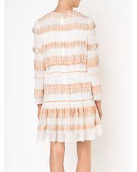 Chloé - White Long Sleeve Dress - Lyst