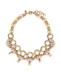 J.Crew | Pink Opened Link Necklace | Lyst