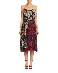 Tanya Taylor - Multicolor Bella Printed Silk Dress - Lyst