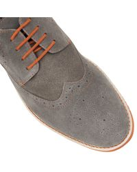 Lotus | Gray Deacon Lace Up Casual Brogues for Men | Lyst