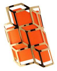 Pierre Hardy - Orange Gold Cuff - Lyst