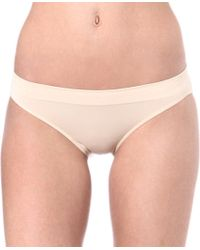 Wacoal | Natural B-smooth Jersey Bikini Briefs | Lyst