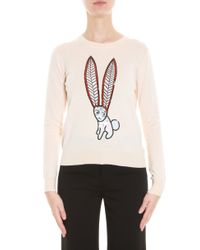 Markus Lupfer - Black Mexican Hare Sweater - Lyst