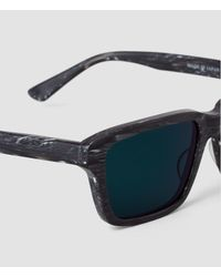 AllSaints | Gray The Chord Sunglasses for Men | Lyst