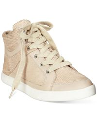 Calvin Klein | Natural Lyda High Top Sneakers | Lyst