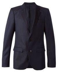 Wooyoungmi - Blue Jacquard Blazer for Men - Lyst