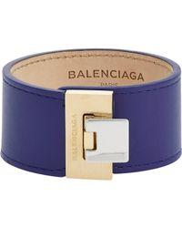 Balenciaga | Blue Le Dix Bracelet-Colorless | Lyst
