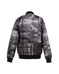 Uppercut - Gray Graphic-print Varsity Jacket for Men - Lyst