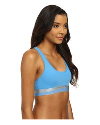 Calvin Klein - Blue Magnetic Force Bralette - Lyst