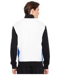 Polo Ralph Lauren | White Color-blocked Interlock Track Jacket for Men | Lyst