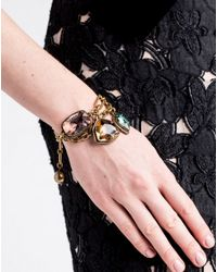 Lanvin   Metallic Bracelet   Lyst