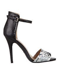 Nine West - Black Inspiration Ankle Strap Heels - Lyst