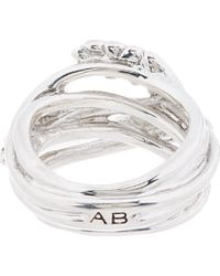 Aurelie Bidermann - Metallic Silver Wheat Ring - Lyst