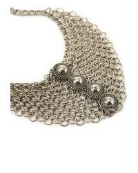 Forever 21 | Metallic Chain Link Medallion Necklace You've Been Added To The Waitlist | Lyst