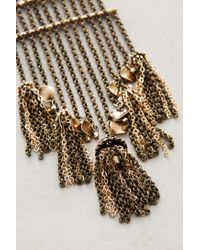Anthropologie | Metallic Kingbird Pendant Necklace | Lyst