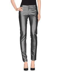 GAUDI | Gray Denim Trousers | Lyst