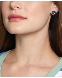 Brooks Brothers - Blue Knot Stud Earrings - Lyst