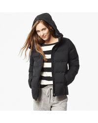 Uniqlo - Black Women Seamless Down Hooded Jacket - Lyst
