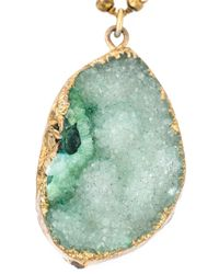 Katerina Psoma - Metallic Beaded Pendant Necklace - Lyst