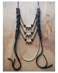 Love Leather - Multicolor Party Warrior Necklace - Lyst