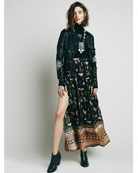 Free People | Multicolor Spell & The Gypsy Collective Womens Phoenix Print Maxi Skirt | Lyst