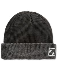 Under Armour | Black Waffle Cuff Beanie for Men | Lyst