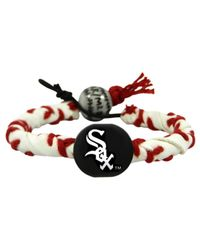Game Wear - Chicago White Sox Frozen Rope Bracelet - Lyst