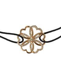 Poiray - Pink Heart & Flower Bracelet - Lyst