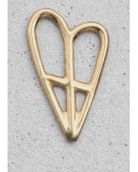 & Other Stories - Metallic Lykke Li Pendant - Lyst