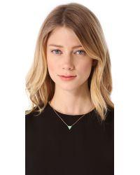 Gorjana | Metallic Bloom Necklace | Lyst
