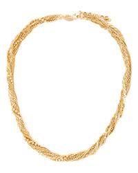 Puro Iosselliani | Metallic Tangled Necklace | Lyst