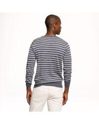 J.Crew - Blue Sedona Shoulder Button Sweater for Men - Lyst