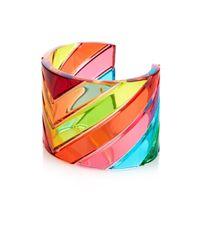 Valentino | Multicolor 1973 Rainbow Plexi Cuff | Lyst
