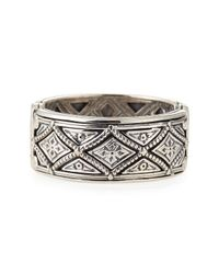 Konstantino | Metallic Mens Sterling Silver Zeus Band Ring for Men | Lyst